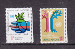 NATIONS  UNIES  NEW-YORK  1979      N° 296 - 297   NEUFS**   CATALOGUE YVERT - New York -  VN Hauptquartier