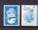 NATIONS  UNIES  NEW-YORK  1979      N° 298 - 299   NEUFS**   CATALOGUE YVERT - New York -  VN Hauptquartier
