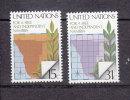 NATIONS  UNIES  NEW-YORK  1979      N° 304 - 305   NEUFS**   CATALOGUE YVERT - New York -  VN Hauptquartier