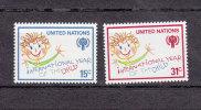 NATIONS  UNIES  NEW-YORK  1979      N° 302 - 303   NEUFS**   CATALOGUE YVERT - New York -  VN Hauptquartier