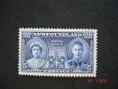 Newfoundland 1939 K.George VI  Royal Visit   SG272  MH - 1908-1947