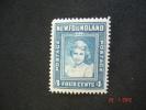 Newfoundland 1941 K.George VI  4 Cents   SG279     MH - 1908-1947