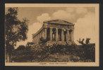 Agrigento Girgenti - Tempio Della Concordia - Non Viaggiata - EB - Agrigento