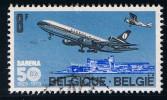 VLIEGTUIG/AVION SABENA - COB : 1675 - 1973 O - Belgium