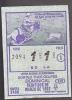 Lottery - Panama - Cowboy's Ferria Internacional De San Jose De David - Lottery Tickets