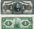COSTA RICA:  1 Colon 1917 UNC *P-S121r  AMERICAN BANKNOTE COMPANY * CV=$20 - Costa Rica