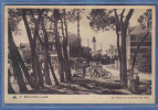 Carte Postale 80. Brighton-Plage  Le Phare Et Motocyclette à Travers Les Pins Trés Beau Plan - France