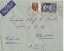 Enveloppe France 1953 ( Comte D'ARGENSON) - France