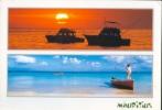 Carte Postale De L´ile Maurice (bateaux) Vers Manage En 2007 - Maurice