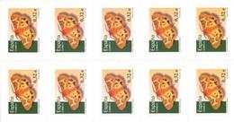 España 2009. Minipliego Talonario Carnet Mariposa Hyphoraia. Ed 4466. MNH. **. - 2001-10 Unused Stamps