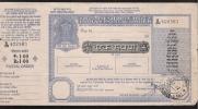 INDIA POSTAL ORDER Large Size Stamped 27.7.1987 VF-XF - Inde