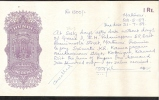HUNDI INDIA PAPER 1 Re MADURAI 22.5.1959  XF-AU - India