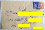 ENVELOPPE SEMEUSE MARIANNE 25 C + 65 C DELZERS LAURENS DEFENSE TUBERCULOSE NET ET PROPRE CROIX LORRAINE 1938 DELRIEU - Francia