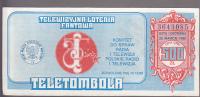 Lottery - Telewizyjna Loteria Fantowa Poland - Lottery Tickets