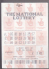 Lottery - The National Lottery - England - Lottery Tickets