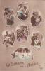 19814 La Semaine De L'amour. Rex 4646 -correspondance Magnac Laval -calendrier Amoureux Couple - Guerre 1914-18