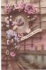 19816 Une Bonne Pensée -Dix 650-correspondance Magnac Laval -militaire Couple Rose Fleur - Guerre 1914-18