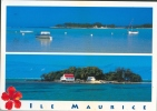 Carte Postale De L'ile Maurice (l'île Aux 2 Cocos, Le Mouchoir Rouge) Vers Manage En 2009 - Maurice
