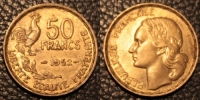 50 Francs Guiraud  1952 - Francia