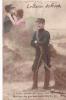 19828 Baiser Du Front - JK 9553.? -correspondance Magnac Laval - Militaire Amoureux Couple Sabre - Guerre 1914-18