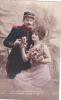 19842 Decorer Mon Coeur Croix Honneur -calife 275- Correspondance Magnac Laval - Militaire Couple Amoureux - Guerre 1914-18