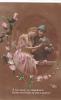 19845 A Ton Amour Abandonne Feuille Vent Automne -jk 9828.1- Militaire Couple Amoureux Rose - Guerre 1914-18