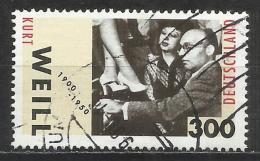 2000 Germania Federale - Francobollo Usato / Used - N. Michel 2100 - [7] Repubblica Federale