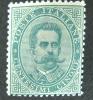REGNO UMBERTO I EFFIGIE 5 CENT VERDE RIF.10401 - 1878-00 Umberto I
