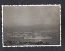 MALTA - HMS FORTI IN MALTA HARBOUR  REAL PHOTOGRAPH. 1953 - Places