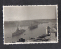 MALTA - THE GRAND  HARBOUR  REAL PHOTOGRAPH. 1953 - Places