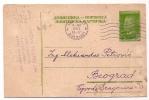 Stamped Stationery - Traveled 1953th - Yougoslavie