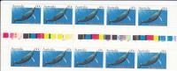 Australia-1982 Whales 60c  Humpback Gutter Strip MNH - Blocks & Sheetlets