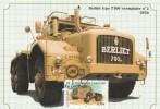 Camion BERLIET - T 100 -   Exemplaire N° 2 - 1958 - Informations Techniques Au Verso - France