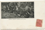 Australian Aborigines King Billy And His A.D.C.´ S Swain And Co Sydney Undivided Back Not Used - Australia