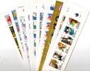 20 Carnets(2 De Chaque)nonplie Vendus Prix Faciale - Carnets
