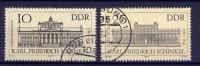 DDR Nr.2619/20              O  Used       (11342)   ( Jahr: 1981 ) - DDR