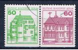 D Berlin 1980 Mi 611 615 W78 Burgen - Berlin (West)
