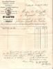 Commerce/Facture/Vins Du Midi Et Roussillon/At. LAUTH/CASTRES/1887     VP193 - Vieux Papiers