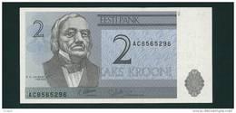 Banconota Da   2  KROONI  ESTONIA - Anno 1992. - Estonia