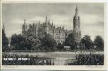 """Um 1920/1930 Ansichtskarte  """"Schloss, Seeseite"""" , Ungebrauchte Karte - Schwerin"""
