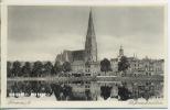 """Um 1920/1930 Ansichtskarte  """"Pfaffenteich Mit Dom"""" , Ungebrauchte Karte - Schwerin"""