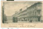 Weinbergen , GRUSS AUS  KGL. ,POSTCARD SCHWARZ WEISS, 1902 USED Für Italien, SMALL SIZE 9 X 14, Straßenbahn-und ANIMATED - Bad Sulza