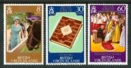 1977 British Virgin Island 25°Anniversario Dell´ascesa Al Trono Set MNH** C10 - British Virgin Islands
