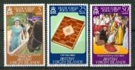 1977 British Virgin Island Visita Reale Set MNH** C11 - British Virgin Islands