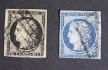 CERES 3 Et 4 OBL Quasi TB - 1849-1850 Ceres