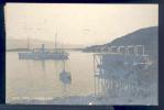 174367-Norway, Fra Lyngseidet, Lyngen, RPPC, Steamship, Panorama View, Stamps, Eneret Photo No 671 - Norwegen