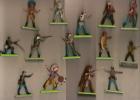 Petites Figurines/ Britains/Plastique Sur Socle Alu/Lot/ 1971                          OBJ15 - Autres Collections
