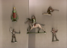 Petites Figurines/Solido?/Alu/Divers/Lot/ Années 1950         OBJ17 - Zonder Classificatie