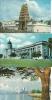 21Lis  SINGAPOUR LOT DE 3 CP (HINDU TEMPLE, SUPREME COURT & CITY HALL, SEA SIDE) - Singapore