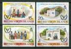 1981 British Virgin Island Anno Persone Disabili Set MNH** C24 - British Virgin Islands